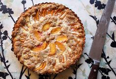 sweet tarte: {twd} crunchy and custardy peach tart