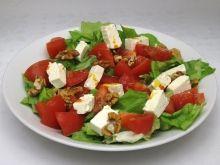 Hlávkový šalát s rakytníkovým olejom Caprese Salad, Pasta Salad, Cobb Salad, Salsa, Ethnic Recipes, Food, Crab Pasta Salad, Essen, Salsa Music