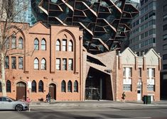Image 1 of 20 from gallery of 271 Spring Street Office Building / John Wardle Architects. Photograph by Peter Bennetts Office Building Architecture, Amazing Architecture, Contemporary Architecture, Architecture Design, Urban Workshop, John Wardle, Hip Roof, Ground Floor Plan, Town And Country