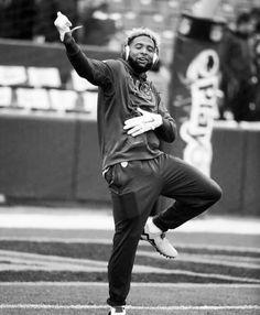 Hit 👊🏽 them 🤙🏽 folks 💪🏽 - Odell 😈 Giants Football, Football Players, Football Memes, Odell Beckham Jr Wallpapers, Odell Beckam Jr, Junior Fashion, Fine Men, New York Giants, American Football