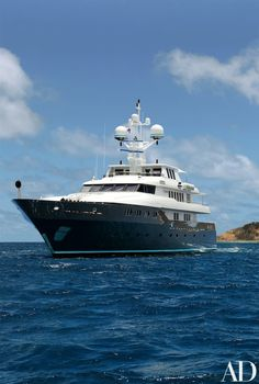 11 Stunning Yachts from the Pages of *AD* Photos | Architectural Digest