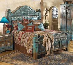 Elegant touch for bed