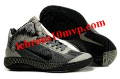 Nike Zoom Hyperfuse XDR 2010 Shoes Cool Grey/Black