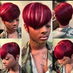 353 Best Quick Weave Styles Images Short Hair Short Haircuts