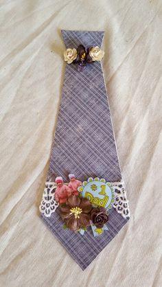 Farsdagskort Floral Tie, Fathers, Scrapbooking, Cards, Accessories, Dads, Parents, Maps, Scrapbooks