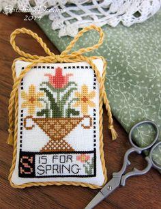 "Prairie Schooler ""S Is For Spring"""