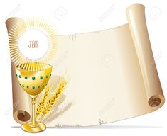 Religion Cup And Host Background Stock Vector - Illustration of communion, paper: 19462411 Parchment Background, Paper Background, 3d Sheets, First Communion, Vintage Paper, Homemade Cards, Christening, Clip Art, Invitations