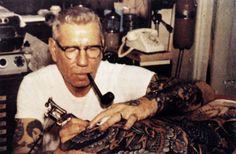 A história do primeiro tatuador profissional do mundo, que abriu seu estúdio nos anos 20 no Havai