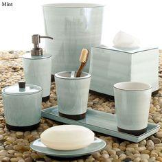 Tribeka Porcelain Bath Accessories