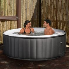 Portable Inflatable Spa for easy use in different environments.