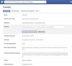 #Facebook Seiten: Administrationsbereich erhält Update.