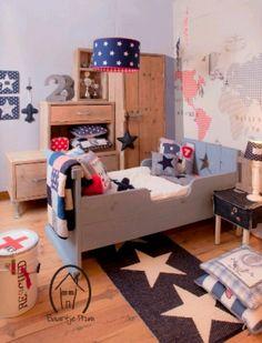 Genialidad dec con sinton a genius d cor idea tune vintage chic peque as historias - Deco voor de kamer van de jongen ...