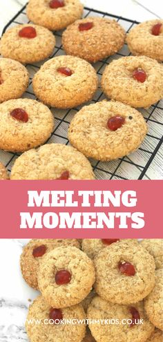 These easy biscuits are otherwise known as melting moments but whatever you call them, they are absolutely delicious and very simple to make! #easy recipe #recipe for kids #baking with kids #biscuits #cookies #scottish #cookies recipe Easy Bakes, Easy Biscuits, Melting Moments, Scottish Recipes, Baking With Kids, Recipe Recipe, Toddler Fun, Bagel, Baking Recipes