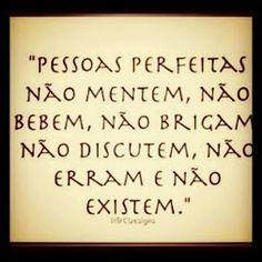 .Pessoas perfeitas