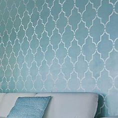 Wall painting stencils: Fabulous wall stencils, stencil designs, stencils for walls. Cutting Edge Stencils.