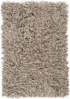 Felted wool shag rug from the Longfellow Collection is a mix of three colors, ivory, stone, and sand for a ultra plush neutral backdrop. (LOW-3503)