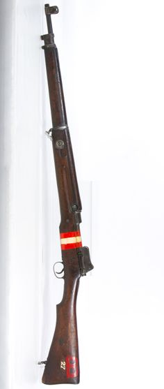 Lot 440: British Enfield .303 Cal. P14 Rifle (Serial #504013); Magazine fed bolt action rifle with 5 round capacity; matching serial numbers