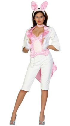 Adult Sexy White Rabbit Costume - Alice in Wonderland Costumes . Christmas Costumes, Cool Halloween Costumes, Adult Halloween, Halloween Ideas, Halloween Party, Adult Costumes, Cosplay Costumes, Easter Bunny Costume, Easter Costumes