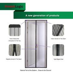 Magnetic Screen Door New Generation Premium Quality