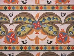 Textile print, Leon Bakst