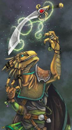 Dragonborn, Bard (Valor), Cleric, Druid, Fighter, Ranger, Warlock (Pact of the Blade)