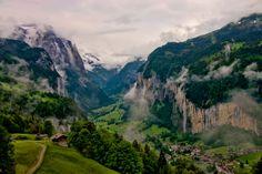 Mirando al mundo con sentimientos: El valle de Lauterbrunnen, Suiza