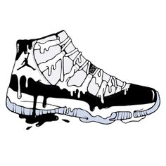 #Jordan11s, #JordanXIs, #JordanConcords, #Shoeart, #illustration, #art Shellymussenden.com