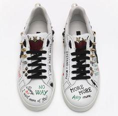 761d197404ca L objet de désir   les sneakers couture Dolce Gabbana