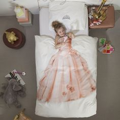 Cute Children's Bedding by Snurk - The Princess