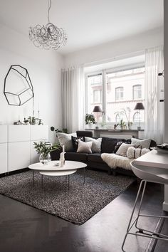 Simple and modern living room