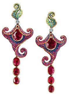 JT Amaryllis earrings
