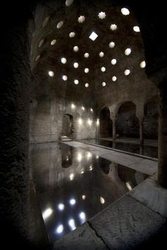 The Banuelo baths, the old arab baths in #Granada http://alhamratour.blogspot.com.es/2014/11/the-banuelo-baths-old-arab-baths-in.html