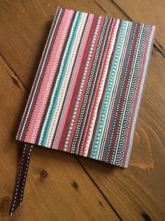 Fabric Covered Handmade Notebook (A6) £6.00