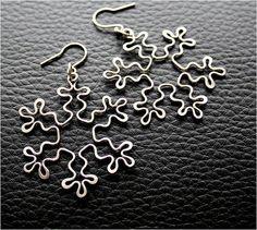 Earrings-Wrought flakes - hypoallergenic | Fler.cz