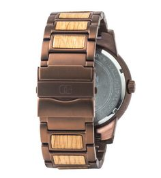 31955e19f08 FEATURES - Reclaimed American Oak Whiskey Barrel Wood - Brushed Espresso  316L Stainless Steel - Mineral