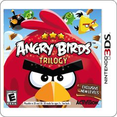 3DS Angry Birds Trilogy R$124.90