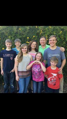 The Byrom Family 2016