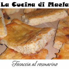 La cucina di Maela: Focaccia salata e croissant alla crema di funghi