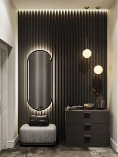 ТРЕНДЫ В ДИЗАЙНЕ 2020 Modern Bedroom Design, Home Room Design, Living Room Designs, Flur Design, Design Loft, Design Design, Interior Desing, Interior Architecture, Wardrobe Door Designs