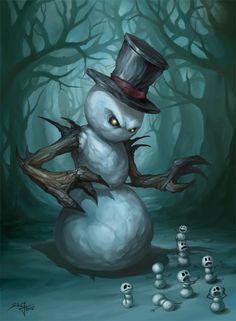 The Evil Snowman.