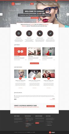 Furniot - Responsive Multi-Purpose Wordpress Theme on Web Design Served