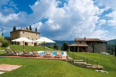 La Maccinaia - Gaiole in Chianti - Siena http://www.salogivillas.com/en/villa/la-maccinaia-2463