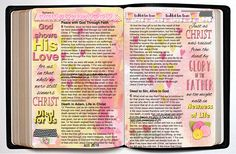 Bible Journal FREE DOWNTOWN PRINTABLE and Kit for print and digital Value Pack include papers, clip art, overlays, alpha, washi, word art