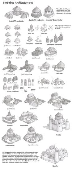 Architectural Designs of Zimbabwe buildings