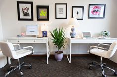 Allyson Conklin's Gorgeous + Inviting Office  | The Office Stylist