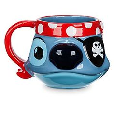 Stitch Sculptured Mug - Disney Cruise Line | Disney Store Get a head start every morning with a sip of your favorite hot beverage from this sculptured Stitch Mug, a souvenir of the motely crew of characters you'll find on any Disney Cruise Line voyage.
