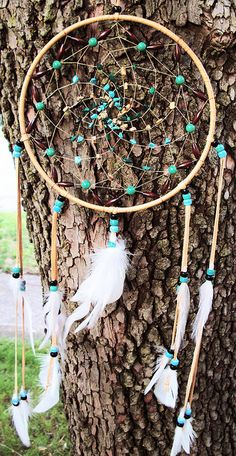 Dream Catcher Turquoise Malachite and Picture Jasper by Owlie!, via Flickr