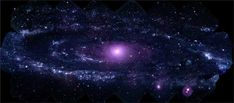 This mosaic of M31 merges 330 individual images taken by the Ultraviolet/Optical Telescope aboard NASA's Swift spacecraft. It is the highest-resolution image of the galaxy ever recorded in the ultraviolet. The image shows a region 200,000 light-years wide and 100,000 light-years high (100 arcminutes by 50 arcminutes).<br />