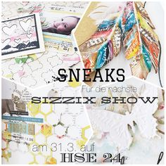 Projects made for the next TV Show for @sizzix UK. http://scrapmanufaktur.blogspot.com