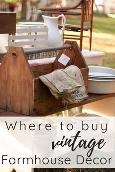 Vintage Farmhouse Home Decor is out there & I want to tell you where to find it! These are all of my pro-tips from buying & selling farmhouse decor for years. Vintage Farmhouse Decor, Farmhouse Bedroom Decor, Farmhouse Style Kitchen, Farmhouse Homes, Home Decor Kitchen, Vintage Home Decor, Diy Home Decor, Farmhouse Ideas, Kitchen Redo